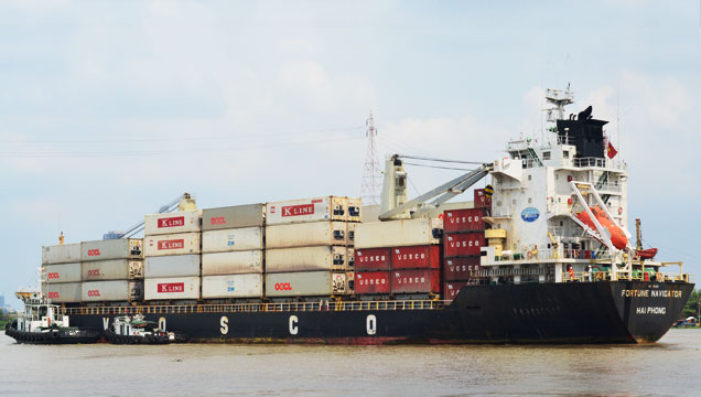 Lịch tàu Container của VINALINES 16.03.2018